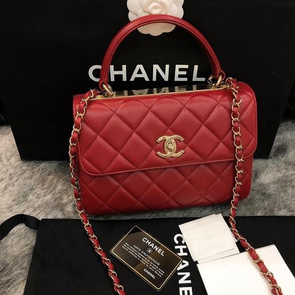 CHANEL Handbags - 2017-Small Chanel CC Trendy. Code 23. 100% Authent